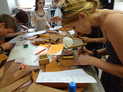 Leather Handicrafts Course- ABC de' Conti